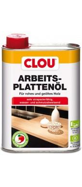 CLOU ARBEITSPLATTENÖL - WORKTOP OIL FORT RAW AND OILED WOOD