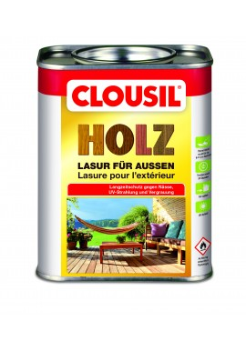 CLOUSIL HOLZ LASUR - COLORED VARNISH WOOD PROTECTION