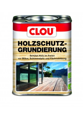 CLOU HOLZSCHUTZ GRUNDIERUNG - WOOD PROTECTION UNDERCOAT