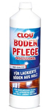 CLOU BODENPFLEGE PROFESSIONAL - FOR VARNISHED FLOORS