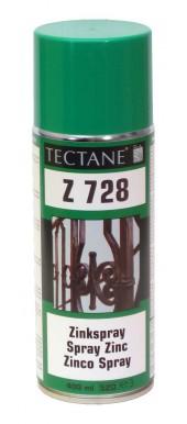 ZINC SPRAY (ΣΠΡΕΙ) Ζ 728 ΨΥΧΡΟ ΓΑΛΒΑΝΙΣΜΑ - TECTANE - DEN BRAVEN