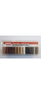 CLOU WACHSKITT - 3.5 CM. REPAIR WAXES - SET 12 PCS