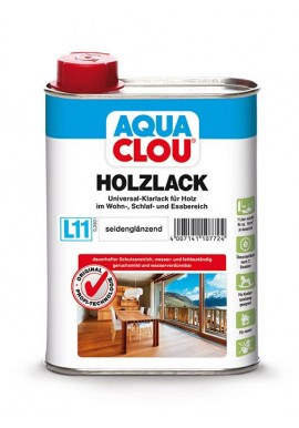 AQUA CLOU HOLZLACK L11 - FURNITURE VARNISH WATER BASED